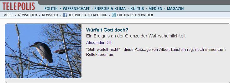 Telepolis_Gott_würfelt